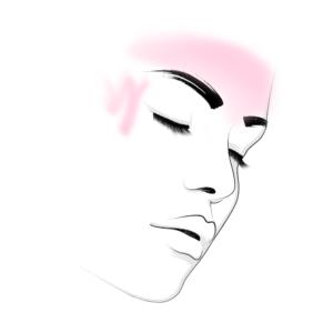"""o Botuliintoksiin – 2 piirkonda: Silmade ümbrus ehk """"naerukortsud""""+ Otsmiku horisontaalkortsud"""